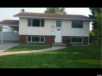 Single Family Home For Sale: 540 W 600 N