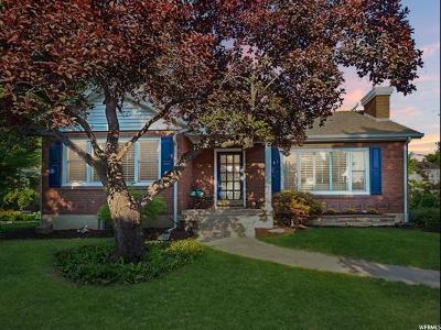 Salt Lake City Single Family Home For Sale: 2657 S Melbourne St E