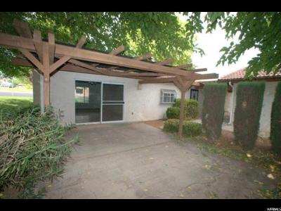 St. George Townhouse For Sale: 320 N Sunflower Dr #5