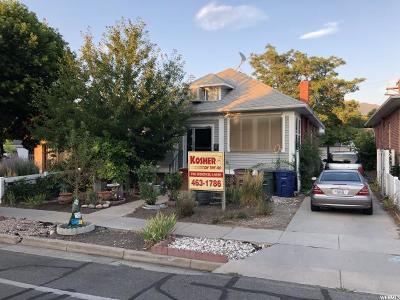 Salt Lake City Single Family Home For Sale: 1575 S 1100 E