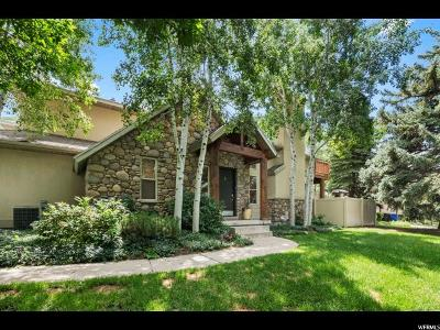 Salt Lake City Townhouse For Sale: 3516 E Bengal Blvd S