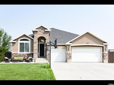 Grantsville Single Family Home For Sale: 317 E Box Elder Dr