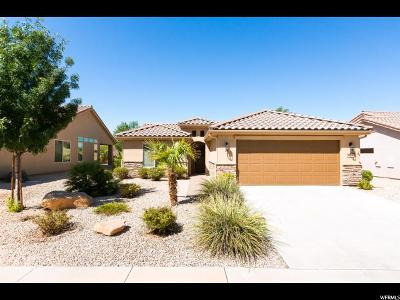 St. George Single Family Home For Sale: 4574 S Elrose Dr