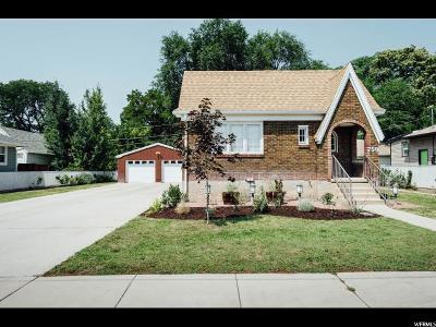 Salt Lake City Single Family Home For Sale: 759 E Springview Dr S