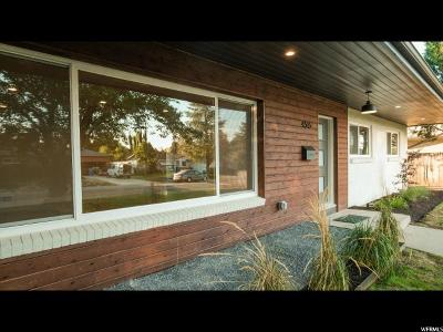 Holladay Single Family Home For Sale: 4515 S Arcadia Ln E