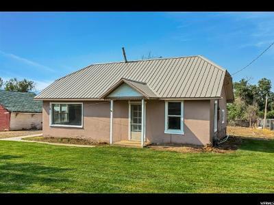 Santaquin Single Family Home For Sale: 159 E 200 S