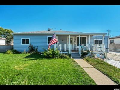 Salt Lake City Single Family Home For Sale: 4561 W 5780 S