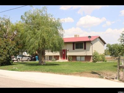 Cleveland UT Single Family Home For Sale: $139,999