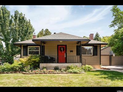 Salt Lake City Single Family Home For Sale: 2863 S Beverly St E