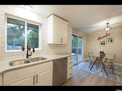 Holladay Single Family Home For Sale: 4821 S 1395 E