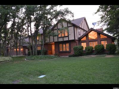 Salt Lake City Single Family Home For Sale: 2413 E Oakcrest Ln S