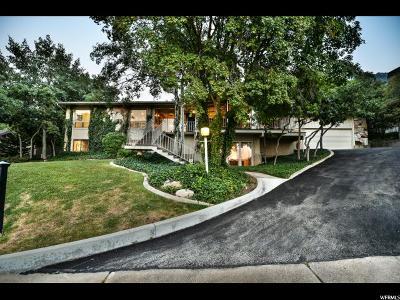 Salt Lake City Single Family Home For Sale: 4411 S Covecrest Dr E
