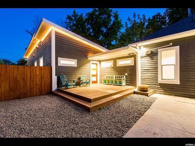 Salt Lake City Single Family Home For Sale: 634 E Garfield Ave