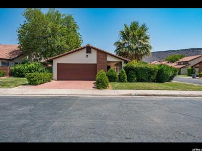 St. George Single Family Home For Sale: 545 S Valley View Dr