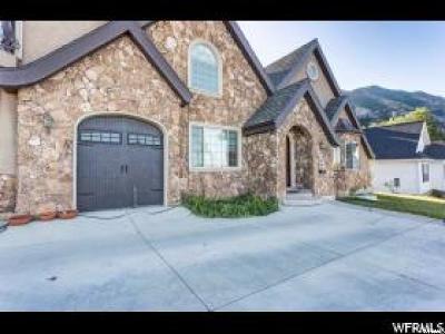 Provo Single Family Home For Sale: 4348 N Wimbledon Dr E