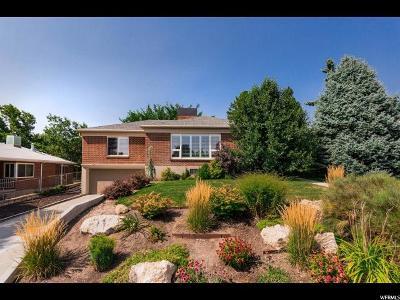 Salt Lake City Single Family Home For Sale: 2481 E Kensington Ave S