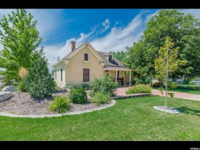 Brigham City Single Family Home For Sale: 105 N 300 W