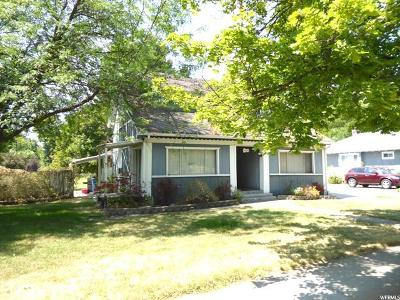 Logan Single Family Home For Sale: 469 S 100 W