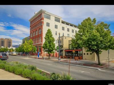 Salt Lake City Condo For Sale: 159 W 300 S #510
