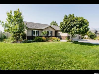 Nibley Single Family Home For Sale: 818 W 2600 S