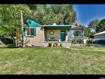 Salt Lake City Single Family Home For Sale: 2895 S McClelland E