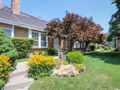 Salt Lake City Townhouse For Sale: 834 E Pond View Way