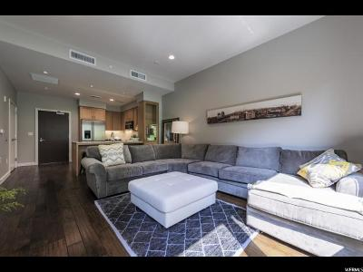 Salt Lake City Condo For Sale: 45 W South Temple St #203