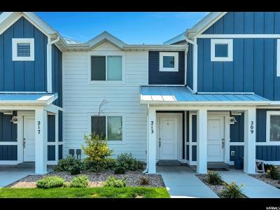 Saratoga Springs Townhouse For Sale: 213 E Legacy Pkwy
