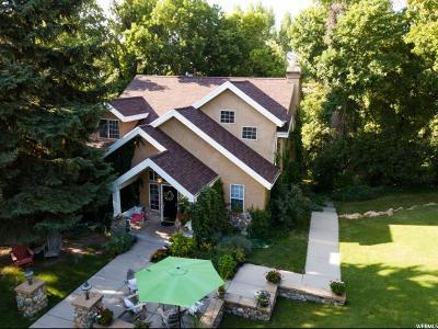 Salt Lake City Single Family Home For Sale: 3500 S Hillside Ln E