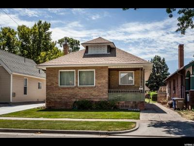Salt Lake City Single Family Home For Sale: 1024 E Blaine S