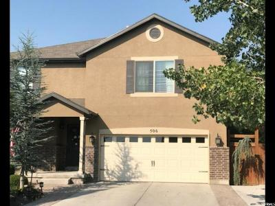 Lehi Single Family Home For Sale: 506 S Olive Way W