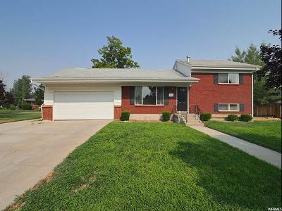 Murray Single Family Home For Sale: 5808 S Nena Way