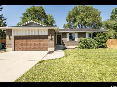 Sandy Single Family Home For Sale: 1545 E Lexington Dr