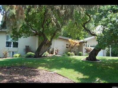 Holladay Single Family Home For Sale: 5461 S Indian Rock Rd E