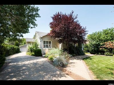 Salt Lake City Single Family Home For Sale: 2160 S 2000 E