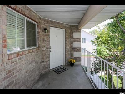 Salt Lake City Townhouse For Sale: 3845 Mitchell Cv #203