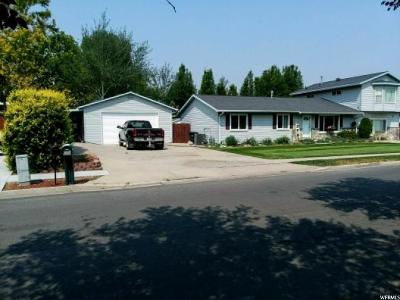 West Jordan Single Family Home For Sale: 8840 S 1240 W