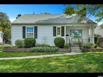 Salt Lake City Single Family Home For Sale: 771 S 1200 E