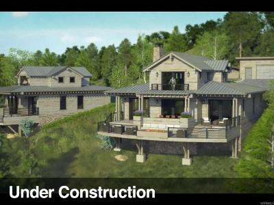 Heber City Single Family Home Under Contract: 7398 E Moon Light Dr #A,  2.1