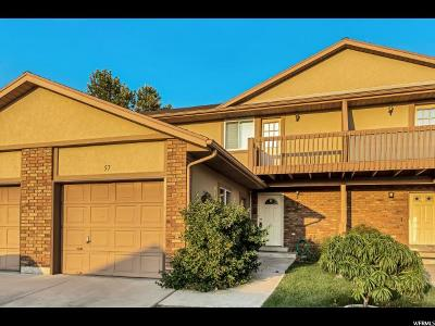 Orem Townhouse For Sale: 57 S 980 W