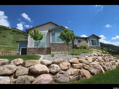North Logan Single Family Home For Sale: 2540 N Dry Creek Pass E