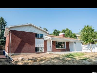 Salt Lake City Single Family Home For Sale: 2765 E 3900 S