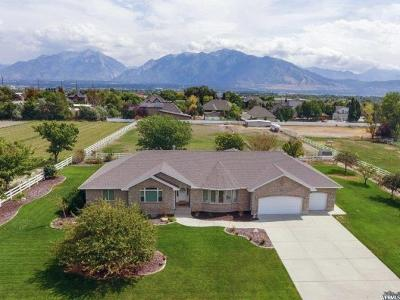 South Jordan Single Family Home For Sale: 11481 S Gold Dust Dr W