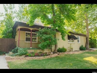 Salt Lake City Single Family Home For Sale: 2374 E 2100 S