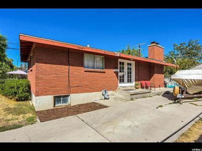 Salt Lake City Single Family Home For Sale: 726 N Oakley St W