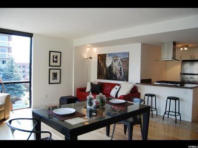 Salt Lake City Condo For Sale: 143 E First Ave #302