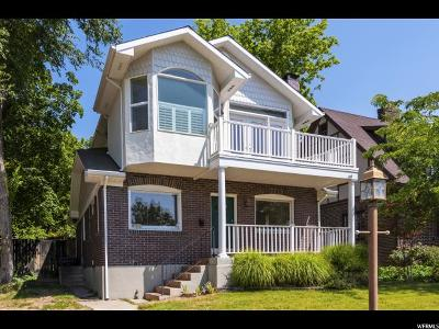 Salt Lake City Single Family Home For Sale: 531 7th Ave