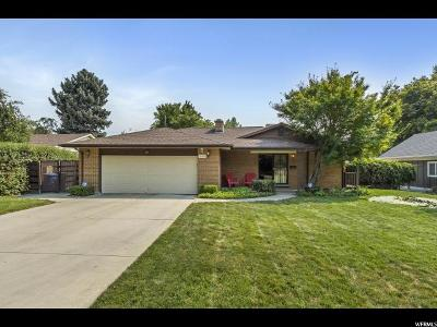 Holladay Single Family Home For Sale: 1708 E Meadowmoor Rd S