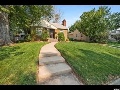 Salt Lake City Single Family Home For Sale: 2131 S 1800 E