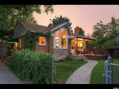 Salt Lake City Single Family Home For Sale: 2770 S Melbourne St E